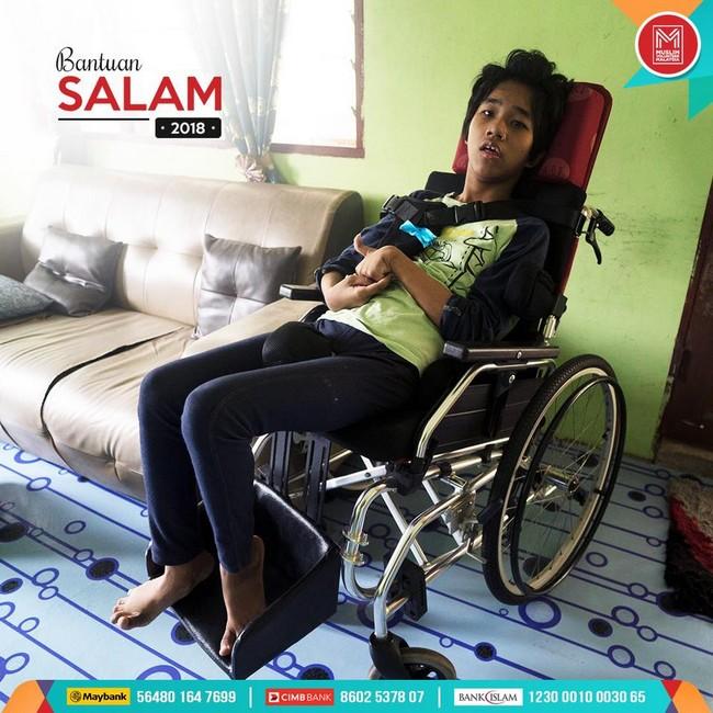 bantuan kemanusian untuk anak kurang upaya