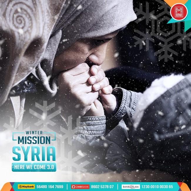 bantulah rakyat di syria yang memerlukan