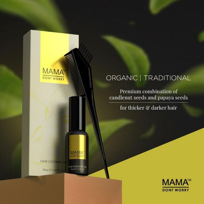 rumusan organik semulajadi untuk rawat rambut bayi