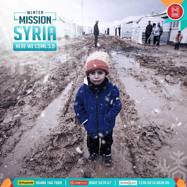 misi bantuan kepada rakyat syria