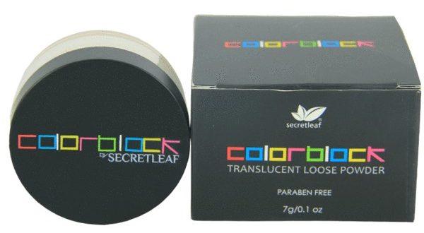 colorblock translucent