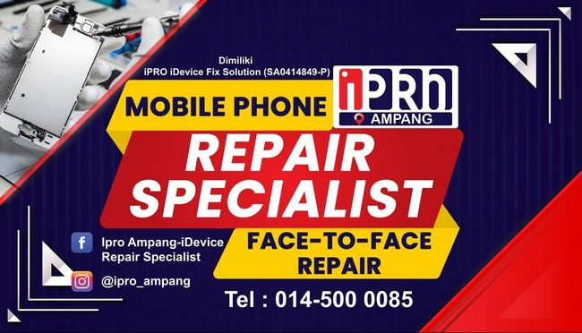 repair specialist ipad kl