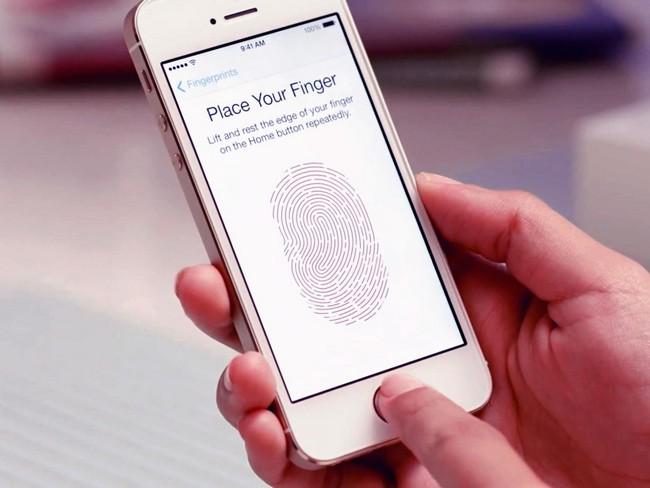 fungsi fingerprint iOS