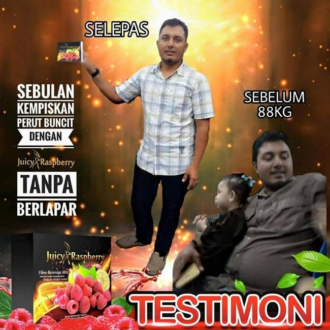 testimoni Bakar Lemak Dengan Jus