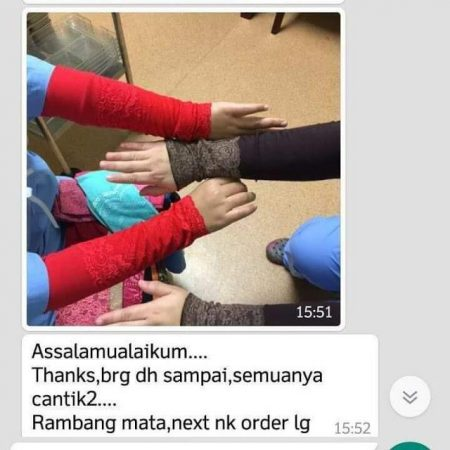 testimoni pakaian muslimah daliajamil