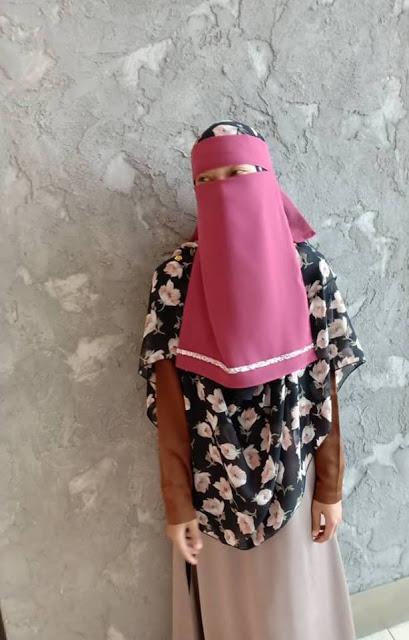 niqab muslimah murah