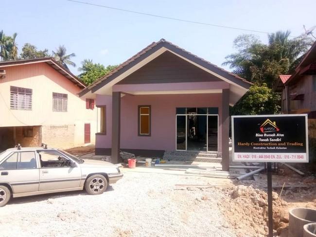 bina rumah banglo di kelantan pada harga yang murah 4