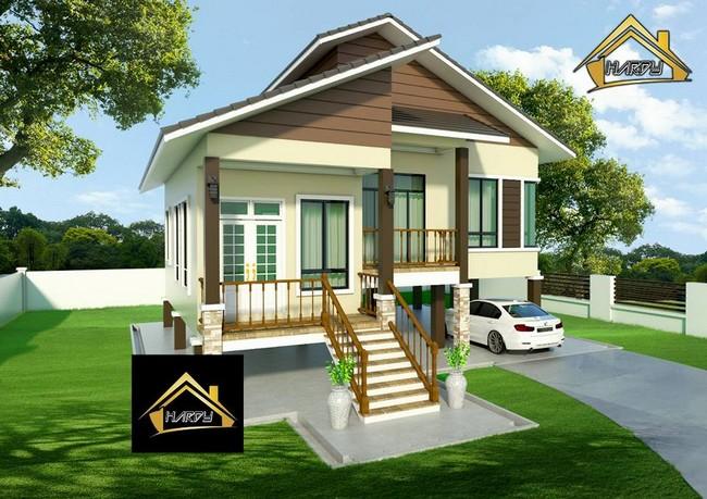 bina rumah banglo di kelantan pada harga yang murah 5