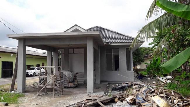 bina rumah banglo di kelantan untuk seisi keluarga 1
