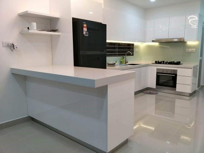 hasil kerja renovate dapur