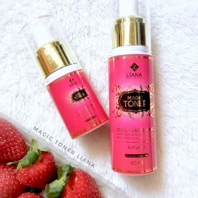 magic toner by liana bib mansor khasiat strawberri
