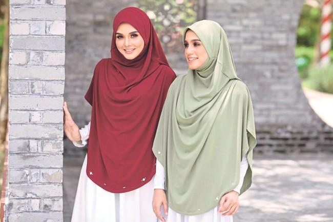 shawl dan tudung murah dan cantik 5