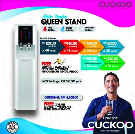 Promosi Cuckoo Percuma Sesuai Untuk Mereka Yang Berjimat (4)