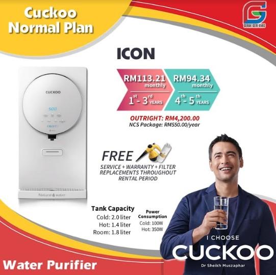 Promosi Cuckoo Percuma Sesuai Untuk Mereka Yang Berjimat (6)