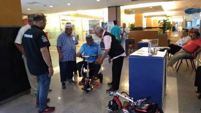 Mobot Flexi Pro Mobility Scooter Dijamin Selesa