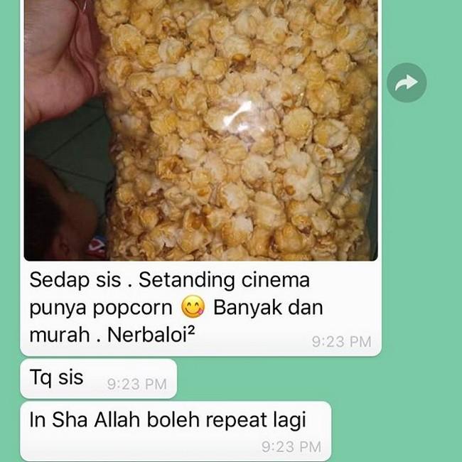 Popcorn Murah Online Terbaik