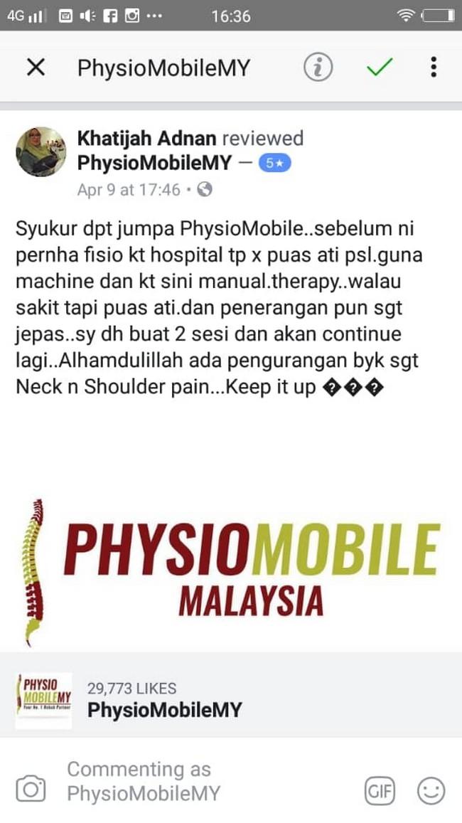 Pusat Fisioterapi Wangsa Melawati Padu