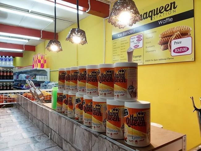 Perniagaan Waffle Kiosk Murah