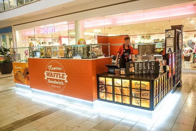 Perniagaan Waffle Kiosk Padu