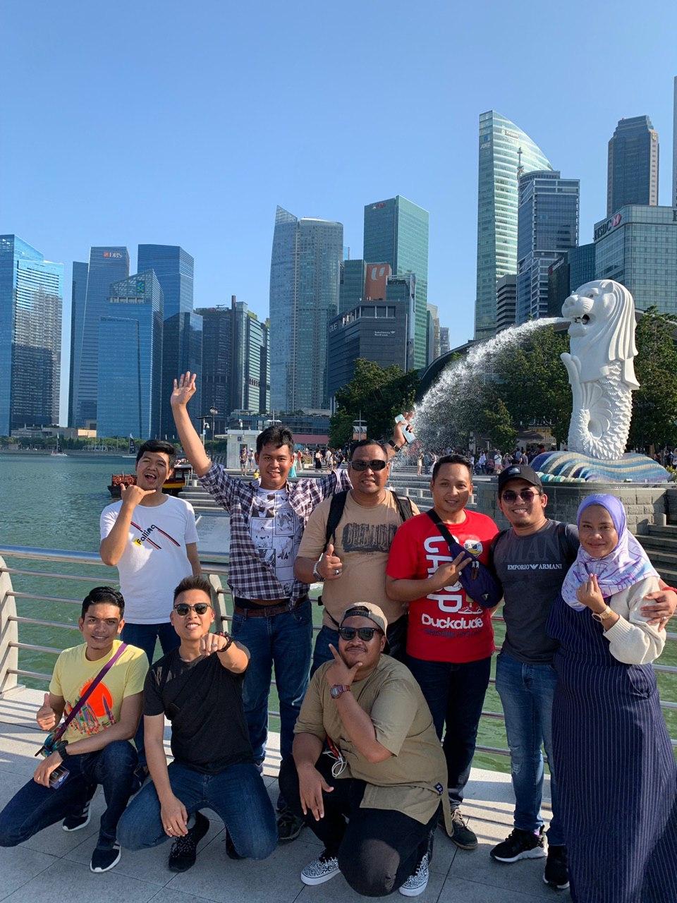 Private Tour Halal Singapore Ramai Gila
