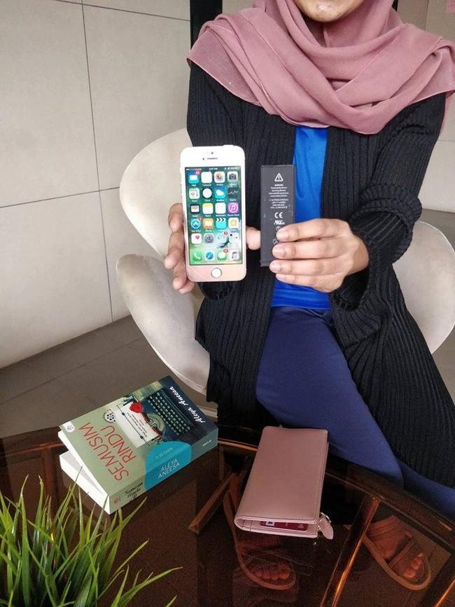 Repair iPhone di Padang Jawa Padu