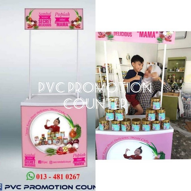 Pvc Promotion Counter & Design Gombak 2019 2020
