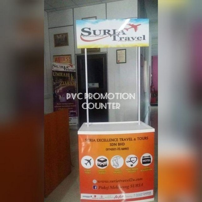 Pvc Promotion Counter & Design Gombak KL