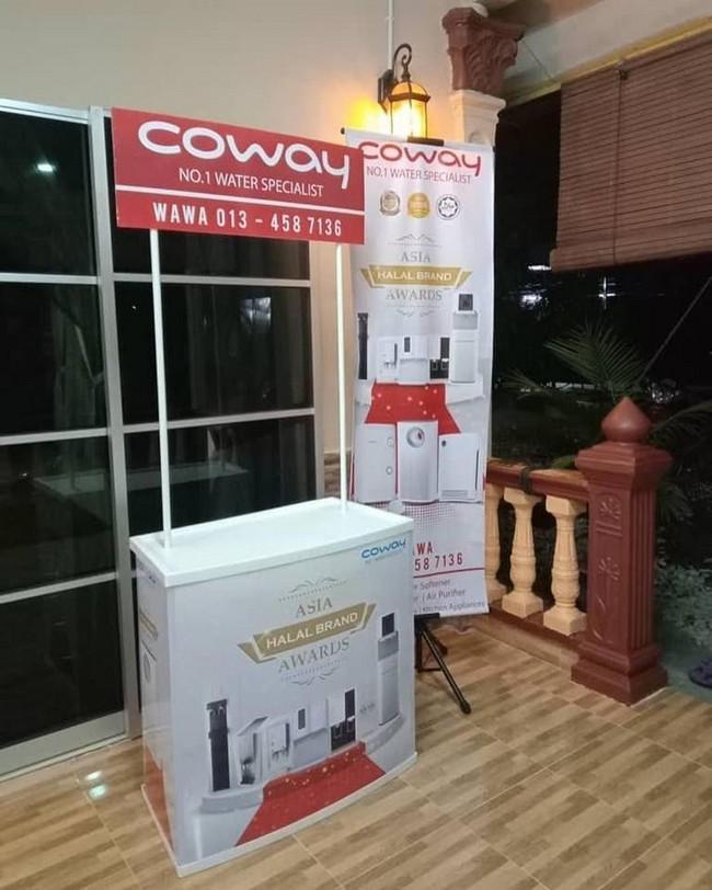 Pvc Promotion Counter & Design Gombak Selangor