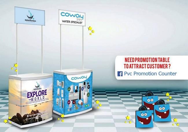 Pvc Promotion Counter & Design Selangor Hebat