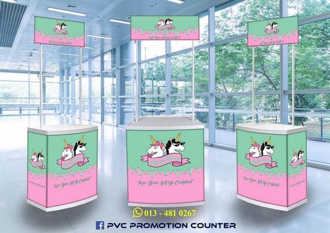 Pvc Promotion Counter & Design Selangor Malaysia