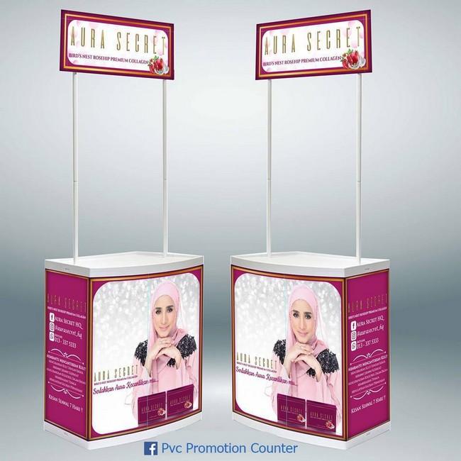 Pvc Promotion Counter & Design Selangor RIngan