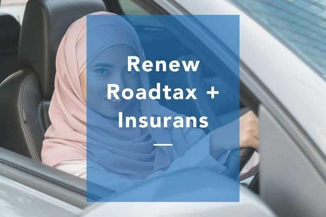 Cara Mudah Bayar Roadtax Murah