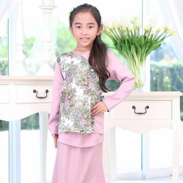 set pakaian kanak-kanak sedondon dengan ibu