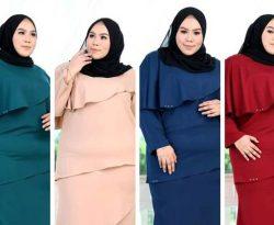 Tips Pilih Baju Raya Untuk Yang Plus Size