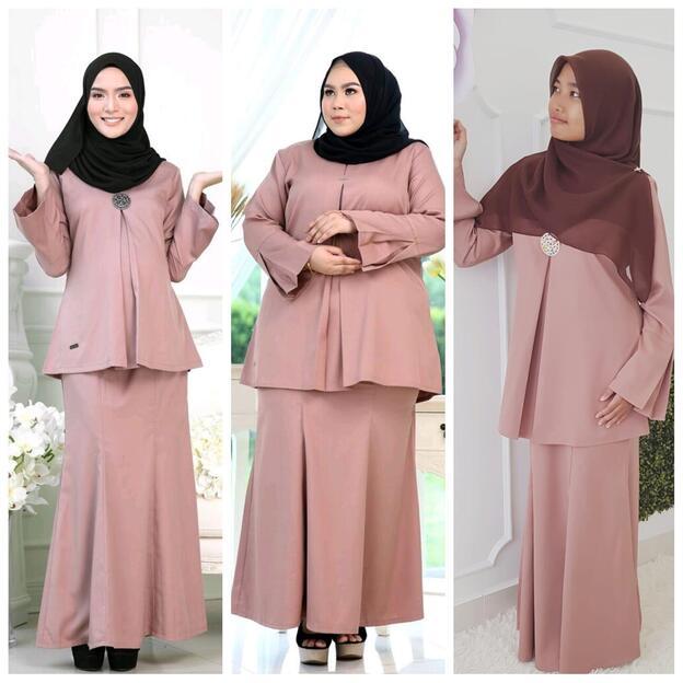 baju plus size muslimah murah