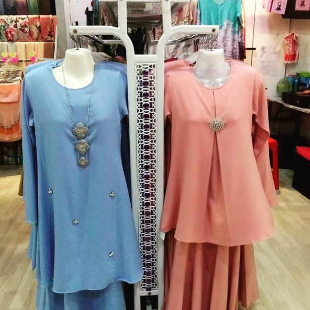 butik pakaian harga berpatutan di malakat mall