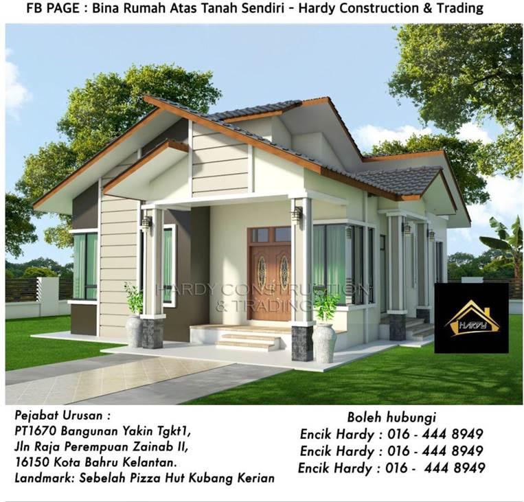 bina rumah percuma quotation design C