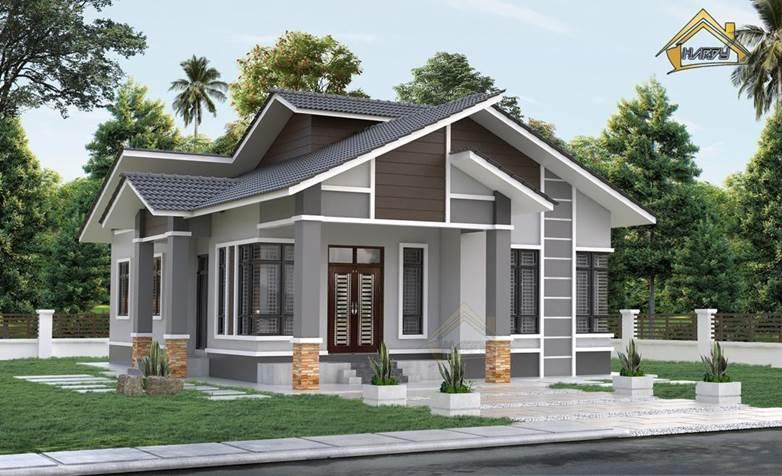 rumah contoh design A