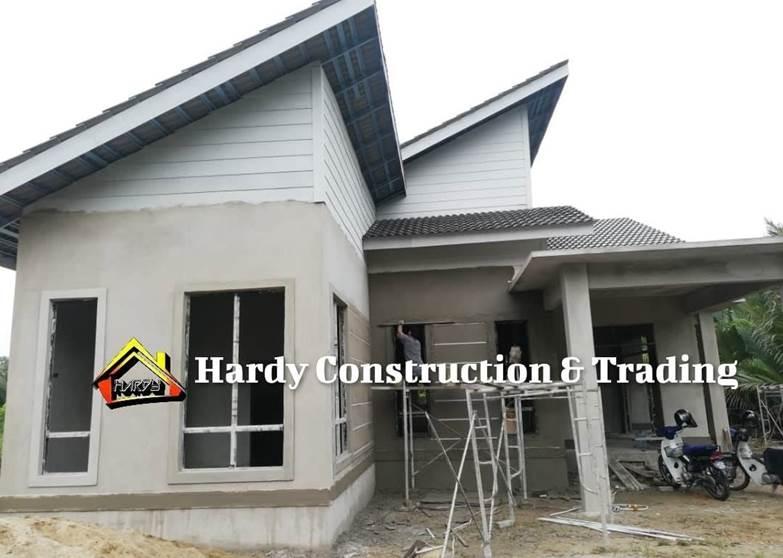 proses bina rumah dalam 3 bulan
