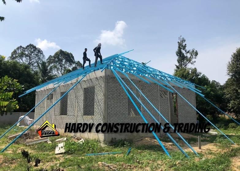 rumah mampu milik dalam pembinaan