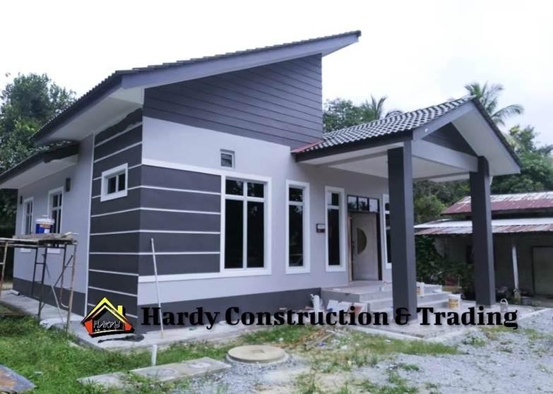 rumah mampu milik dengan hardy construction